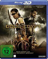 3D Blu-ray * GODS OF EGYPT - 3 D - GERARD BUTLER  # NEU OVP $