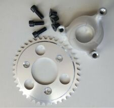 40 Tooth CNC Sprocket & 1.5 Inch Adapter Assembly 80CC Gas Motorized Bicycle