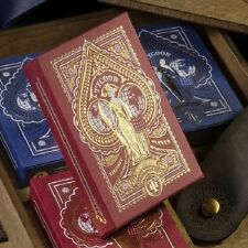 TYCOON CRIMSON RED SINGLE DECK OF PLAYING CARDS BY THEORY11 MAGIC TRICKS POKER