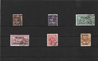 Memel, Litauen 1920-1923, Einzelwerte aus MiNrn: 1 - 169 o, geprüft Huylmans BPP