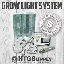 GROW LIGHT- COMPLETE KIT 150 250 400 watt BALLAST + REFLECTOR HOOD + GROW BULB