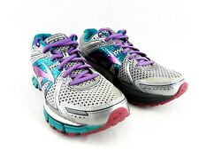 Brooks Womens GTS 17 Running Athletic Shoes Size 10 B, (No Insoles), Gray / Teal
