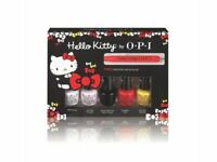 OPI Hello Kitty Friend Pack Mini Bottles including Hello Kitty Nail Art Tool
