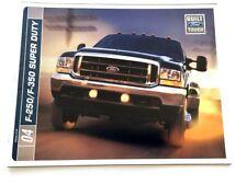 2004 Ford F-250 F-350 Super Duty Truck 28-page Original Sales Brochure Catalog