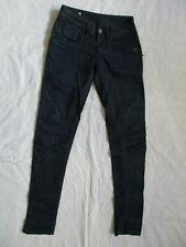 Women's G-Star Raw Indigo Washed Fender Skinny Denim Jeans-size 25 X 33