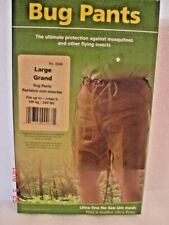 Coghlan's Bug Pants Size Large Fits up to 240Lbs
