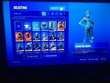 FORTNITE ACCOUNT WITH FROZEN LEGENDS 100+ SKINS +MERRY MINT PICAXE *RAFFLE ENTRY