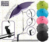Universal Sun Rain Parasol / Umbrella / Baby Pram Pushchair Canopy at BabyBootik