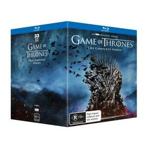 GAME OF THRONES : The Complete Series Seasons 1-8 : NEW Blu-Ray