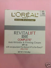 L'Oreal Dermo-Expertise Revitalift Day Complete Anti wrinkle and Firming Cream.