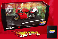 HOT WHEELS DUCATI 996 SPS SCALA 1/10 MATTEL