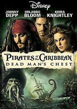 Pirates of the Caribbean Dead Mans Chest DVD Widescreen NEW Sealed Johnny Depp