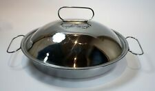 New listing Cuisinart Roasting Pan with Lid Stainless Steel Pan 2 Qt. Heavy C59 - 29D