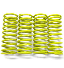 L11263 1/5 1/8 Scale Shock Absorber Spring 66mm Long x 26mm Diameter Yellow x 4