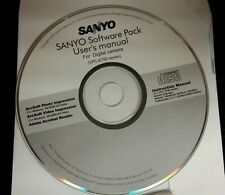Sanyo: (VPC-E760 7.1-MP digital camera)-(SOFTWARE PACK CD ONLY)