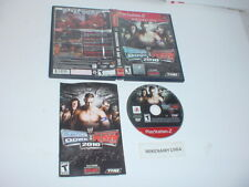 WWE SMACKDOWN VS. RAW 2010 game complete in case w/ manual - Playstation 2 PS2