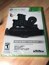 DJ Hero 2 Xbox 360 Video Game NEW Sealed - FREE SHIP
