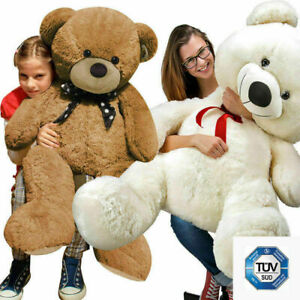 Large Teddy Bear Giant Kids Big Soft Plush Toys Kids Girls Gifts 60/100/120 Size
