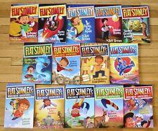 Lot 14 FLAT STANLEY Books Jeff Brown Original & Worldwide Adventures L2