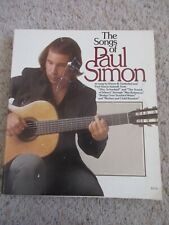 New Listing1973 The Songs Of Paul Simon Sheet Music Song Book