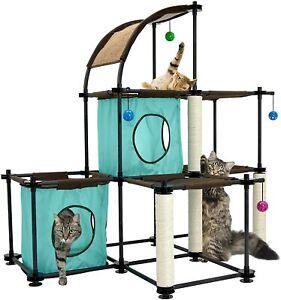 Cat City Mega Kit Cat Jungle Gym Climbing Play Furniture Scratching Posts