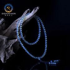 AAAAA Dominican Sky Blue Amber Bead Bracelet - 5mm / 108Beads