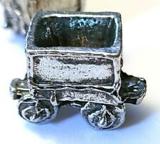 ORE CAR FIGURINE CAST WITH FINE PEWTER - Approx. 3/4 inch Long   (T160)