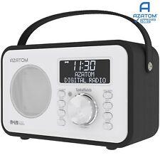 DAB Radio Home Speaker Digital Alarm Battery AZATOM Spitalfields BLACK