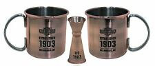 Harley-Davidson Moscow Mule Cocktail Set | Two Mugs & A Jigger -HDL-18609