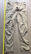 ARCTERYX Khaki 47% Cotton 40%Polyester 13% Nylon Canvas Pants Women's Sz30