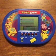 HASBRO NINTENDO POKEMON YAHTZEE HANDHELD PIKACHU ELECTRONIC GAME TOY LCD TRAVEL