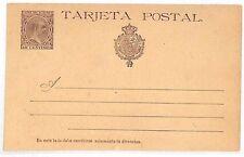 VV178 1890s tarjeta postal stationery tarjeta postal España sin usar {samwells-cubre}