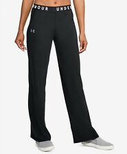 Under Armour Favorites Wide-Leg Sweatpants-BLACK-SIZE-XS-NWT