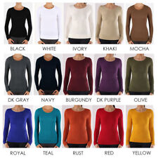 Women's Round Neck Long Sleeve Jacquard Style Top