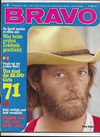 BRAVO Nr.8 vom 15.2.1971 Michael Cole, Pierre Brice, Melanie, Peter Fonda - TOP