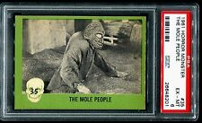 1961 Horror Monster Green #35 PSA 6 The Mole People Low Pop Non Sport Card Rare