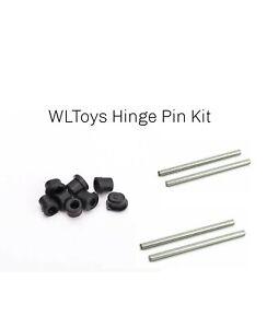 Wltoys 144001 124018 124019 RC 1267 Front/Rear Arm Sleeve + 4 X  Hinge pins Kit