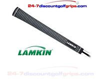 Lamkin - Crossline MIDSIZE Golf Grips -  Black FREE TAPE-FREE POST