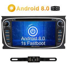 "Kamera 7"" Android 8.0 32GB 4GB Autoradio Radio DVD mit GPS DAB WIFI 4G 4K Video"
