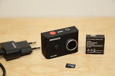MINOX ACX 300 Camcorder 3K Action Cam Unterwasser-Kamera mit WIFI Schwarz Geb.