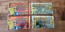 New listing Pokemon Cards - 4 Topps Booster Packs Sealed. 2 Tv & 2 Movie, Animation Editions