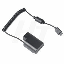 DCC12 Dummy Battery Power Cable to DJI RONIN-S for Panasonic GH4 GH5 Camera