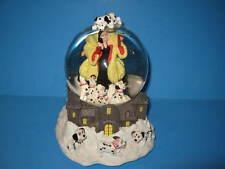 DISNEY 101 Dalmatians Dogs CRUELLA Snow Globe Music Box CRUELLA DE VILLE