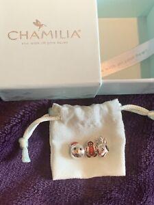 Genuine Chamilia Christmas Bead Bundle Of 3 Charms