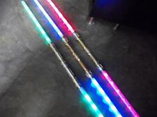 3 Galactic Wars Dual Lightsaber Led 6-FX Double 2-Sided Toy Star Sword GIFT