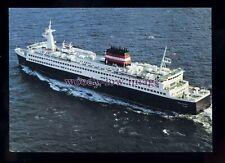 FE3125 - Danish Ferry - Prins Joachim , built 1980 - postcard