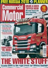 COMMERCIAL MOTOR MAGAZINE ISSUE 31st MAY 2018 ~ NEW ~
