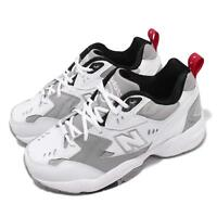New Balance WX608RG1 D Wide White Grey Red Women Running Shoes Sneaker WX608RG1D