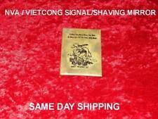 VIETNAM WAR NVA/VC AUTHENTIC SIGNAL MIRROR  PRE 1975 SAME DAY SHIPPING