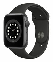 Apple Watch Series 6 44mm (GPS )Space Gray / Aluminum Case / Black Sport Band